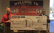 Lakeside High School Donation